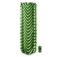 KLYMIT Static V Sleeping Pad GREEN Lightweight Camping - FACTORY REFURBISHED