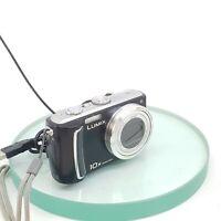 Panasonic Lumix DMC-TZ5 10x Leica 9.1MP SuperZoom Black Digital Camera TESTED990