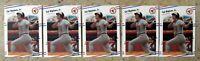 Cal Ripken 1988 Fleer #570 Baltimore Orioles 5ct Card Lot
