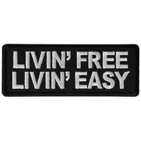 LIVIN FREE. LIVIN EASY - IRON or SEW-ON PATCH