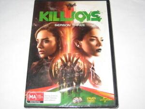 KILLJOYS season 3 DVD R4 NEW/SEALED