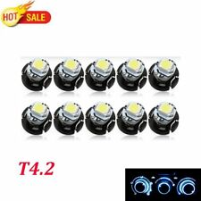 20x T4.2 1210 1SMD 12V Ice Blue  LED Instrument Light Wedge Panel Dashboard Bulb