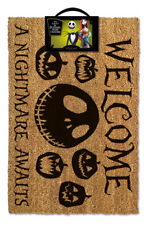 Nightmare Before Christmas (A Nightmare Awaits) Doormat DOOR MAT GP85256