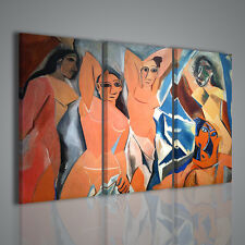 Stampa su tela completa di telai e ganci Ritratto di Picasso Salvador DALI/'
