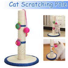 Pet Cat Scratching Pole Post Pad Scratch Scratcher Sisal Toy Play