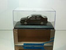 MINICHAMPS 120401 ALFA ROMEO 155 SALOON 1992 -  BLACK 1:43 - EXCELLENT IN BOX