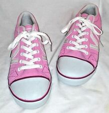 VANS PINK AND WHITE SNEAKERS NWOT  SIZE W 10