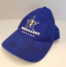 Dallas Desperados Arena Football Team Autographed Hat DOLEZEL JONES