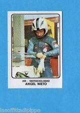 CAMPIONI dello SPORT 1973/74-Figurina n.209- NIETO - MOTOCICLISMO -Rec