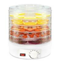 Electrical Food Dehydrator Machine with Thermostat Control 5 Tier