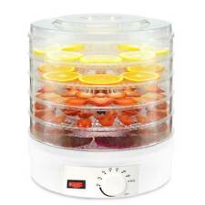 5 Tray 350W Electric Food Dehydrator Veg Preserver Machine Fruit Meat Beef Dryer