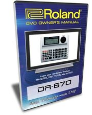 Roland (Boss) DR-670 DVD Video Training Tutorial Help