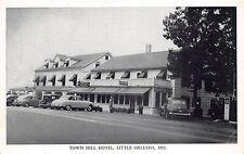 B43/ Little Orleans Maryland Md Postcard Town Hill Hotel Roadside c1940s 1