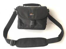 Lowepro Rezo Universal DSLR Camera Bag 160 AW w/ Strap + Rain Cover Black CLEAN!