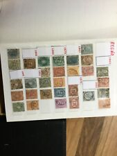 ITALY stamps  1863 Onward in packed album