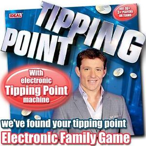 Tipping Point Family Team TV Game by Ideal