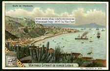 Gulf of Venezuela Caracas Carribean Sea c1903 Trade Ad Card