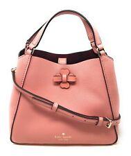 Kate Spade Talia Small Triple Compartment Satchel Handbag Bag Peachy Rose