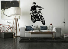 Wall Decal Vinyl Sticker Bedroom Nursery Dirt sport Bike Motorcycle ride  bo2895