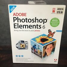 Adobe Photoshop Elements 6 for Windows PC with Serial Number + Bonus Software