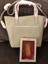 FOSSIL DARBY SATCHEL BAG PURSE-LIGHT SAGE-NWT