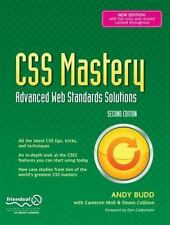 CSS Mastery: Advanced Web Standards Solutions (Black & White), Moll, Cameron, Bu