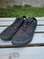 Men's Vans old skill uk Size 8 Black