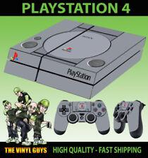 Placas frontales y etiquetas multicolores Sony PlayStation 4 para consolas y videojuegos Consola