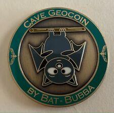 Bat-Bubba Cave Geocoin