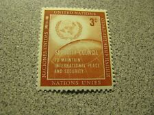 United Nations Stamp 3 Cent 1957