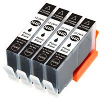 4 Photo Black HP 564XL 564 Ink Cartridge for PHOTOSMART 5520 6520 7520 6510 3520