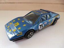 Ferrari 512 BB - Rally Car - Bburago - # 4133 - Blue - 1/43 - Italy