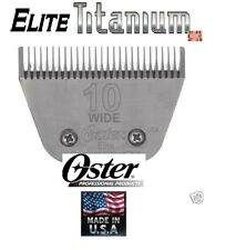 Oster A5/A6 Elite Titane 10 Large Lame Fitmost Andis , Wahl Clipper Pet Toilette