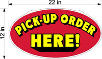 SINGLE SIDED PLEXIGLASS SIGN PICK UP ORDER HERE NEW