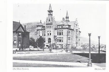 "*Postcard-""The Old High School"" -1920-  *Helena, MT  (#100)"
