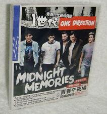 One Direction Midnight Memories Taiwan CD+4 Postcards w/BOX