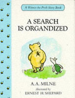 """""""NEW"""" A Search is Organdized(Winnie-The-Pooh story books), Milne, A. A., Book"""