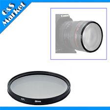 58mm CPL Polarizing Lens Filter for Canon Nikon Sony Pentax Sigma Olympus