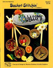 Craft Books: #1497 Basket Stitchin' Vol 1 Cross Stitch