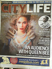 Rare UK Beyonce Manchester Evening News City Life Promo Cover Clippings