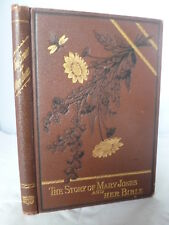 1890 - The Story of Mary Jones and Her Bible - Decorative HB - Illustrated