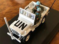 Victoria | 1:43 | UN Jeep Willys | 1978 Lebanon w/ 2 Soldier Figurines