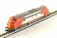 "KATO N-Scale K2885 STRABAG 1125 ""Santa Fe"" Nohab Diesel Locomotive RARE!!"