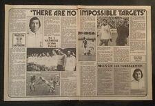 "1978 Football picture article DEYNA Poland inc TEAM + TOMASZEWSKI ""Focus"" (2xA4)"