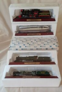 4× BOXED ATLAS EDITIONS MODEL LOCOMOTIVES