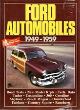 Book - Ford Automobiles 1949-1959 - Thunderbird Fairlane - New copy Brooklands