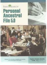 FamilySearch: Personal Ancestral File 5.0 PC CD family research history tools!