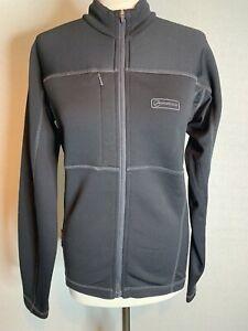 Montane  Black Top Polartec  Full Zipped Jacket Size Small (H1)
