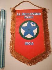 Gagliardetto STELLA AZZURRA ZOLINO IMOLA CALCIO football MATCHWORN FUSSBALL