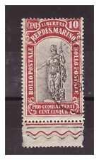 SAN MARINO 1918 -  PRO COMBATTENTI   CENT.  10   USATO